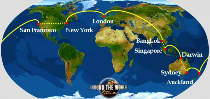 rtw group departure