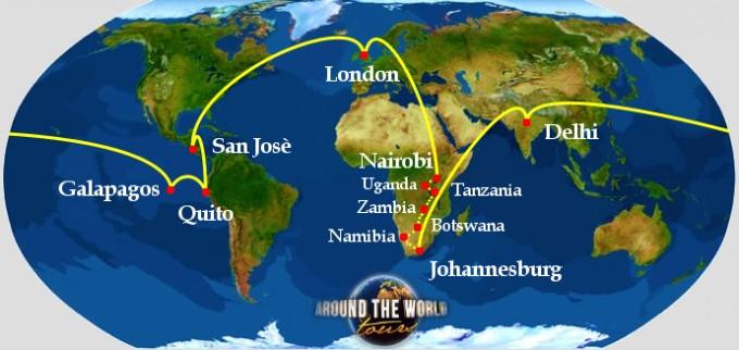safari around the world